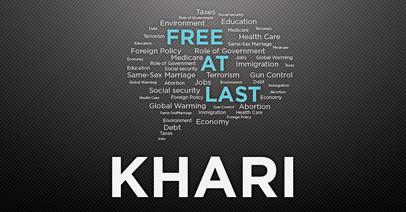 Khari Free at Last